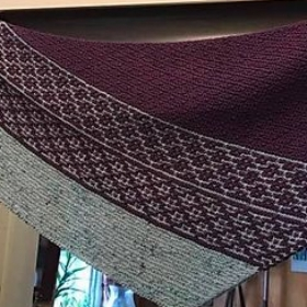 Want to make this scarf? It looks complicated, but we can do it together!