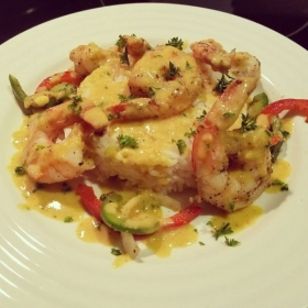 Thai Curry Shrimp and Jasmin Rice