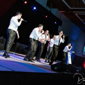 A performance with the Maccabeats in Hamilton, ON.