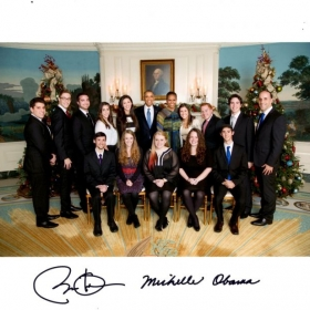 A performance at The White House for the President and First Lady.