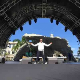 My stage.  Miami