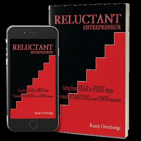 One of my books--on Entrepreneurship. Available on Amazon. Just go to my author page to find out more.