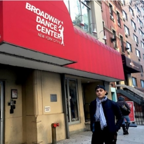 Me in Broadway Dance Center.