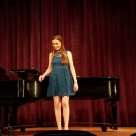 My performance at Rollins College, Spring 2018