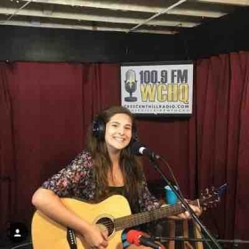 "Playing for 100.9 WVHQ ""Homegrown Radio Hour"""