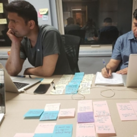 My UX/UI classroom at New York Code+Design Academy