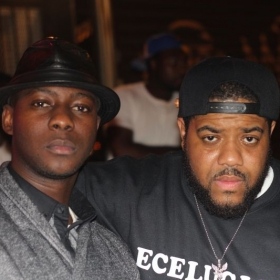 """Cheick """"H.U.L"""" Sacko and Charlie Clips (Top Tier rap battle Emcee)."""