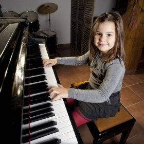 I specialize in working with young children on piano and violin.