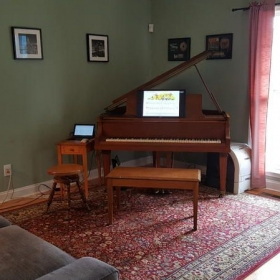 Our home studio
