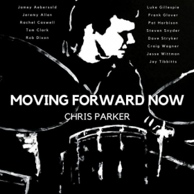 "My album, ""Moving Forward Now""!"