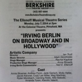 Directing work with the Berkshire Theatre Group, a company whose performers have included Kate Baldwin to Al Pacino.