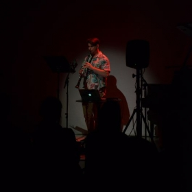 Performance at National Sawdust in Williamsburg, Brooklyn.