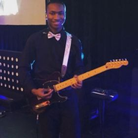 I play lead guitar for Faith Church every Sunday!