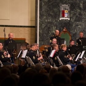 Performing the Khachaturian Flute Concerto with The United States Army Field Band