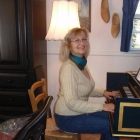 My the first time of playing harpsichordist.