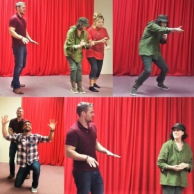Improv for REAL Life class