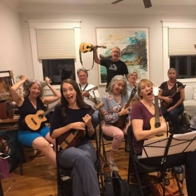 A fun workshop I attended at Kenneth Fowler's house with Mark Baker