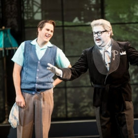 Ernesto (Don Pasquale by Donizetti), Minnesota Opera with Craig Colclough as Pasquale.