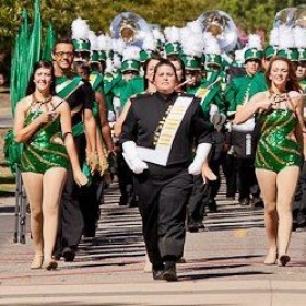Drum Major at ATU 2012