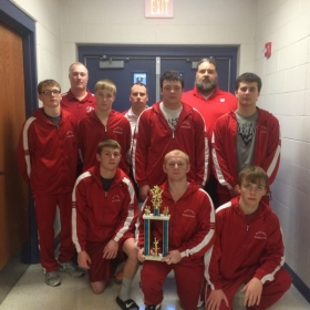 3rd Place Team Finish Wrestling