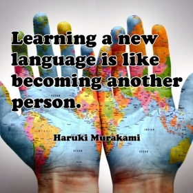 ''A different language is  different vision of life''