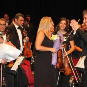 During my time in Jordan as a concertmaster of Amman Symphony Orchestra