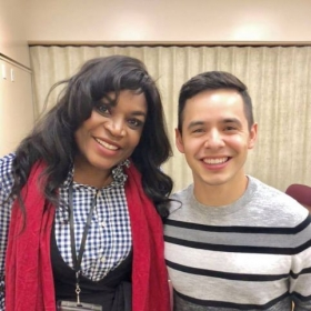 Being on the same line up of speakers with David Archuleta