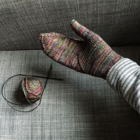 Arched Gusset Mittens - Purl Soho