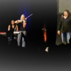 Performing with HBC band
