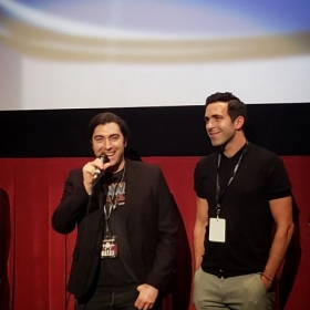Audience Q&A with Zach and his producer Victor for the 2018 Oscar-qualifying HollyShorts Film Festival at the TCL Chinese Theaters.