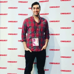 """Zach's screenplay for """"The Lightkeeper"""" being honored at the 2017 Cinequest Film & VR Festival in Silicon Valley, CA."""