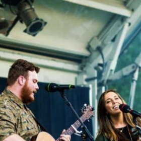 My husband, Nathan, and I are privileged to be able to share our own songs as a husband and wife singer/songwriter duo.