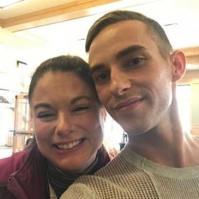 With U.S. National Champion and Olympic Bronze Medalist Adam Rippon