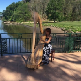 Playing for a wedding