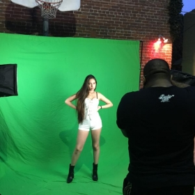 Photoshoot at Sunset Sound Recorders for the Sony BMG Latin Record I sang, wrote and co produced.