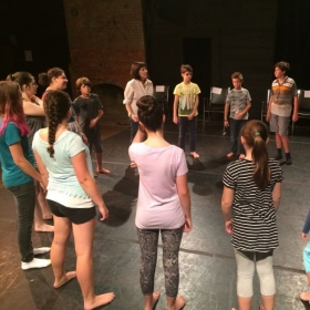 teen voice class Byrdcliffe Theatre