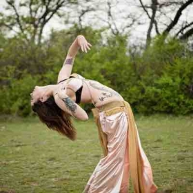 Belly dancing also involves flexibility! Ask me to incorporate this into our lessons if you are interested!
