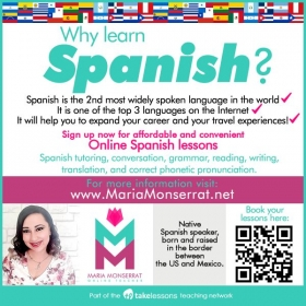 Spanish lessons! Learn something new this 2019!