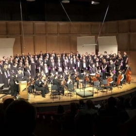 I was in Haydn's Mass concert as a member of choir