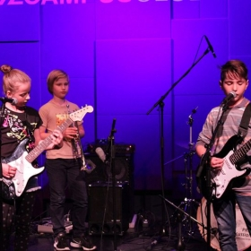 Students in concert