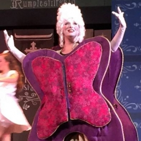 "Mikayla as The Wardrobe in ""Beauty and the Beast"""