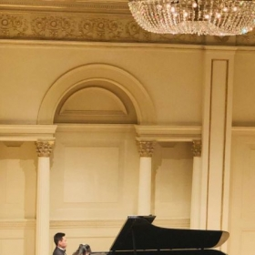 Wenting &Jingci Piano Duo Concert, Weill Recital Hall, Carnegie Hall