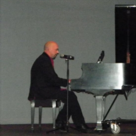 "me performing on Piano&Vocal - John lennon's classic song, ""Imagine"""
