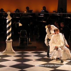 Dr. Bartolo's close shave, Il Barbiere (Rossini)