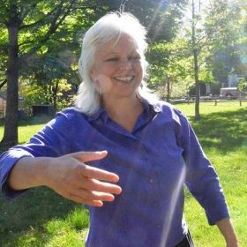 Being in nature is one of my favorite places to practice qigong!