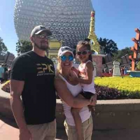 Our family at Epcot 2018!