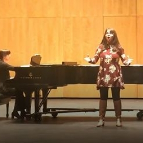 Music Student Recital at Harper College Fall 2018.