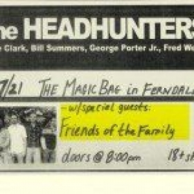 What an amazing experience, opening for Herbie Hancock's legendary band, The Headhunters!