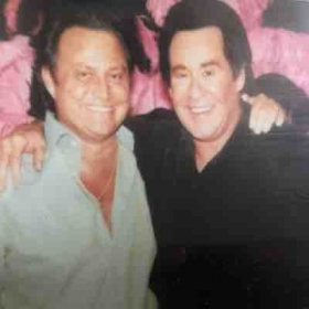 With Mr. Wayne Newton, whose lifetime entertaining audiences to the very maximum of his ability, inspired me to do the same...