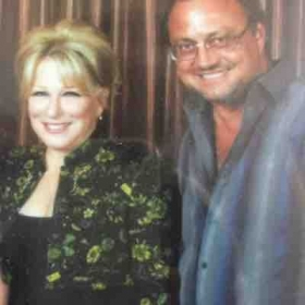 "With ""The Divine Miss M"", Bette Midler, whose Triple Threat Talents are STILL inspiring me!"